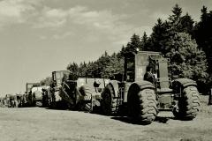 Am 27. Juni 1965 trifft die erste Ausrüstung auf der Baustelle ein