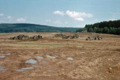 Flugplatz-Ausbau 1965: große Erdbewegungen