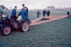 Transport der Stahl-Dachträger