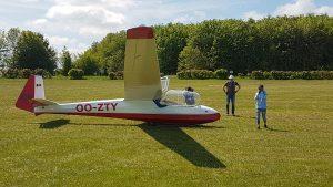 Hirzenhainer Segelflieger haben ein neues Segelflugzeug